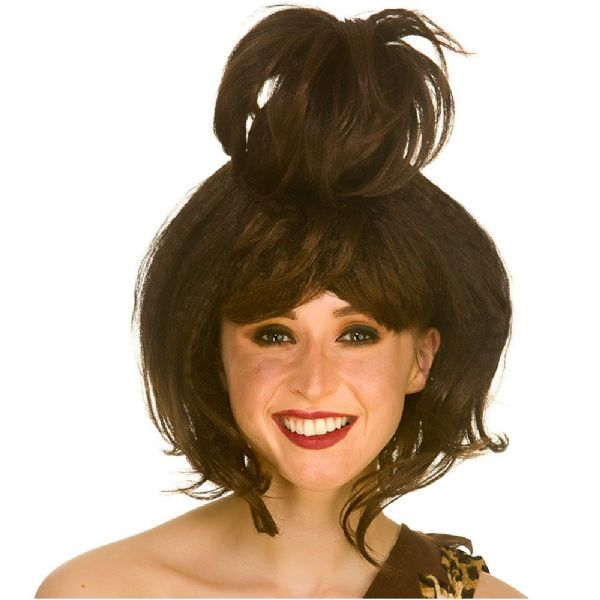 Adults Ladies Cavewoman Wig Accessory Prehistoric Caveman Fancy Dress